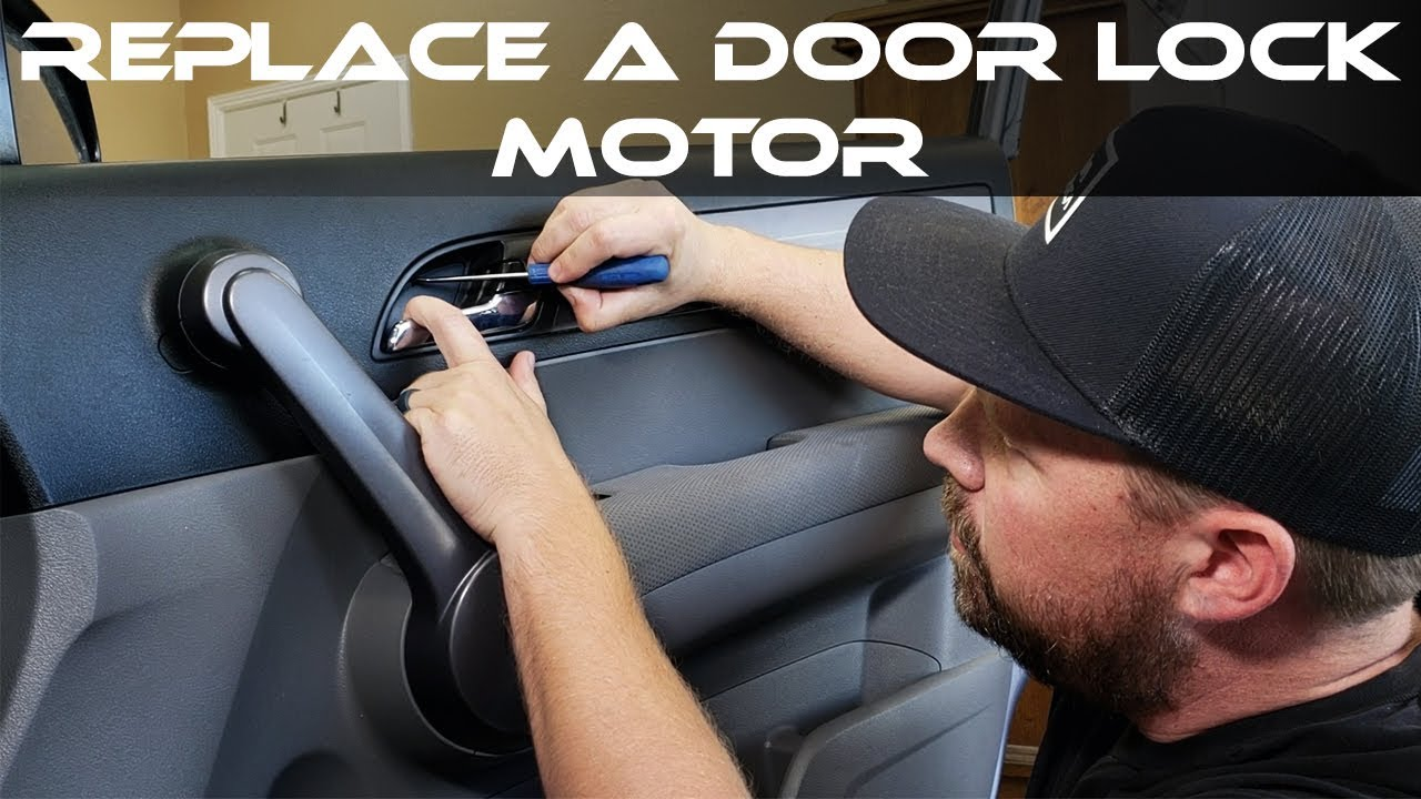 How To Replace Honda Door Lock Actuator Youtube