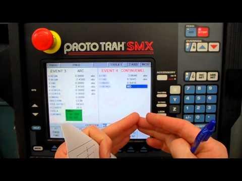 Proto TRAK CNC Mill 2-axis Multi Event Program Setup