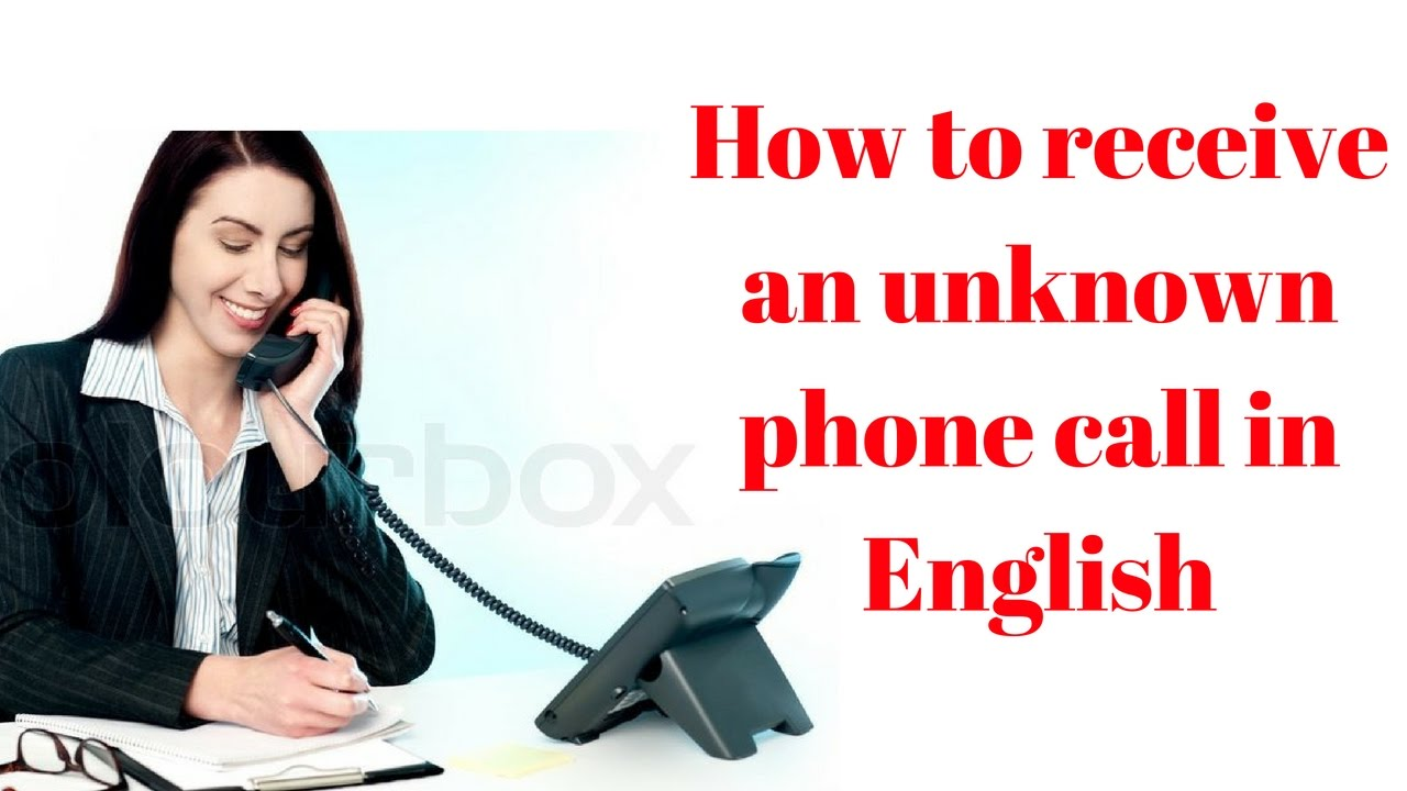 how to call from unknown