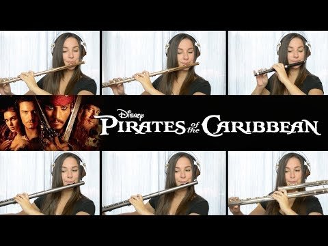 Pirates  of the Caribbean Theme - Flute Cover