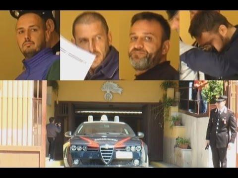 Cesa (CE) - Estorsioni, 8 arresti contro i Caterino-Ferriero (09.05.16)