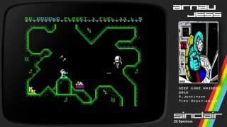 Deep Core Raider Zx Spectrum by P.Jenkinson