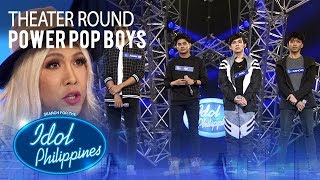 """Power Pop Boys sings """"Stitches"""" at Theater Round 