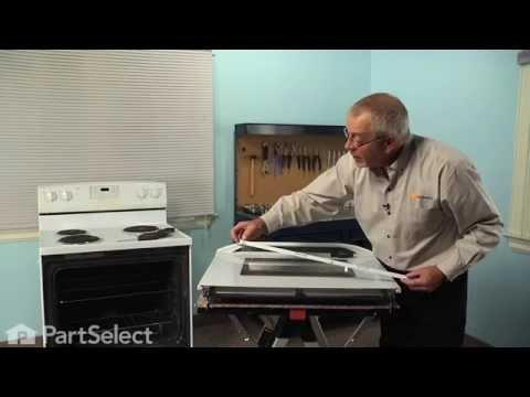 Range Repair - Replacing the Inner Oven Door Glass (Whirlpool Part # 8053948)