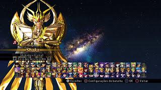 Todos os personagens jogaveis - Os Cavaleiros do Zodíaco: Alma Dos Soldados PS4