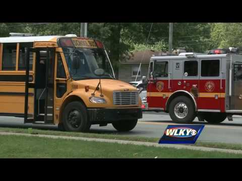 JCPS student hit, killed after exiting moving school bus on Westport Road