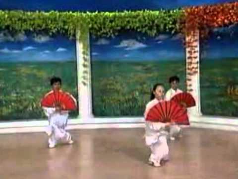 62bada32d Tai Chi Kung Fu Fan - YouTube