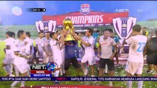 Juara Bhayangkara Trofeo 2017, Arema FC Angkat Trofi Perdana Pra Musim 2017 - NET24