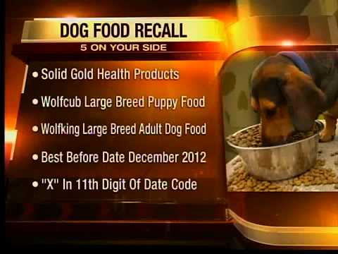 Solid Gold Dog Food Recall
