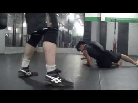 Learn Fight Like Batman Double Cover Elbow KFM Part 2 Wolfman Combatives!