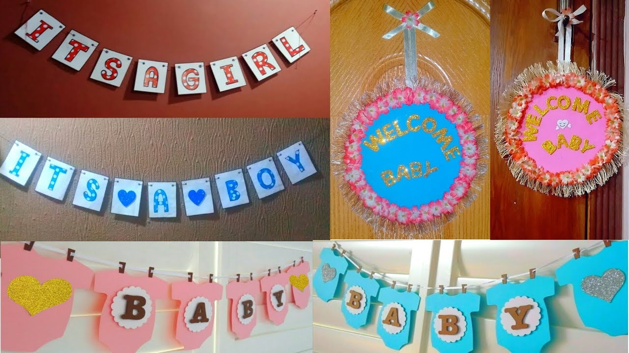 baby welcome decoration Ideas | newborn baby welcome home ...