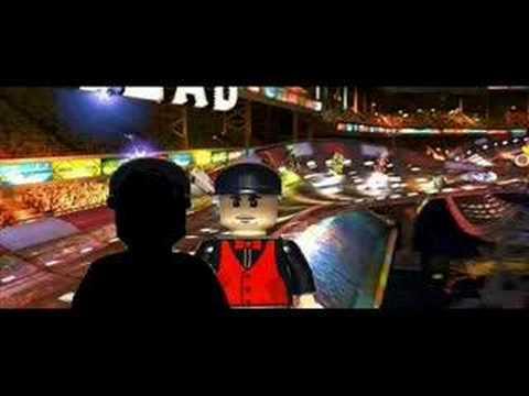 Speed Racer trailer (In Lego)