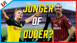 Wiens Prestatie Is Knapper? Die Van Ibrahimovic (39) Of Haaland (20)?