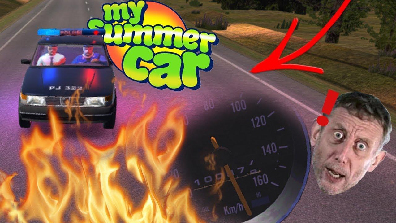 POLICJA CHCIAŁA MNIE ZATRZYMAĆ ????♂️ POŚCIG POLICYJNY ???? My Summer Car (Odc 13 Sezon 4)