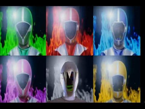 Custom Gokaiger Tribute Henshin - Go Go V (with Titanium)