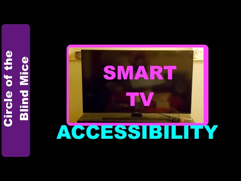Smart TV Accessibility  Low Vision Assistive Tech