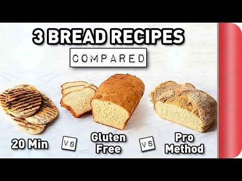 3 Bread Recipes COMPARED #ad