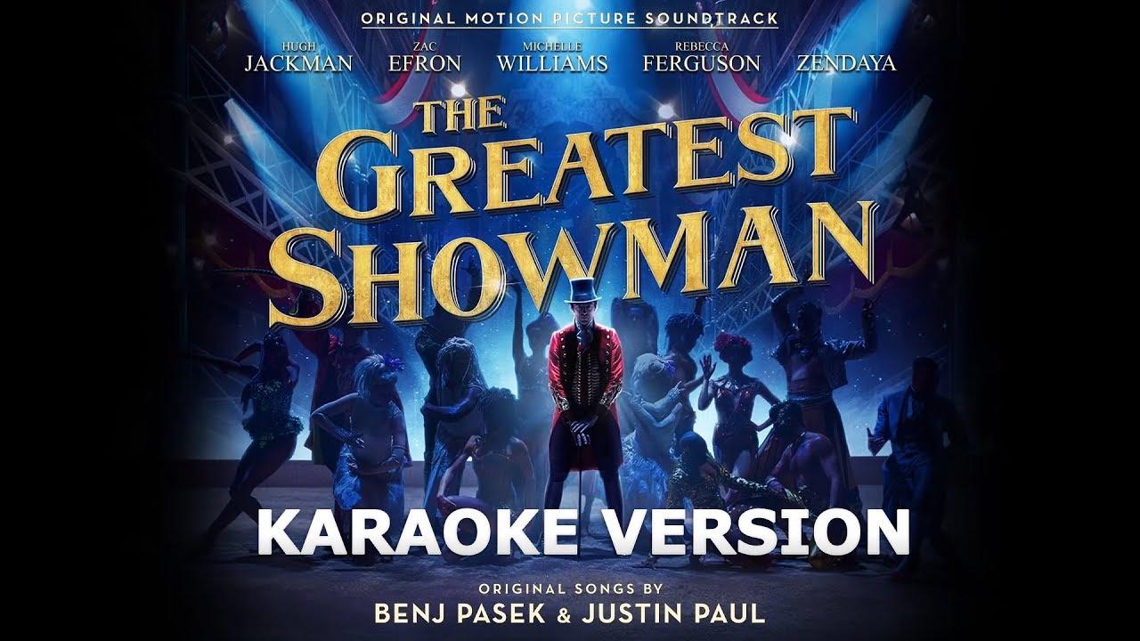 The Greatest Showman Cast - A Million Dreams LYRICS Karaoke