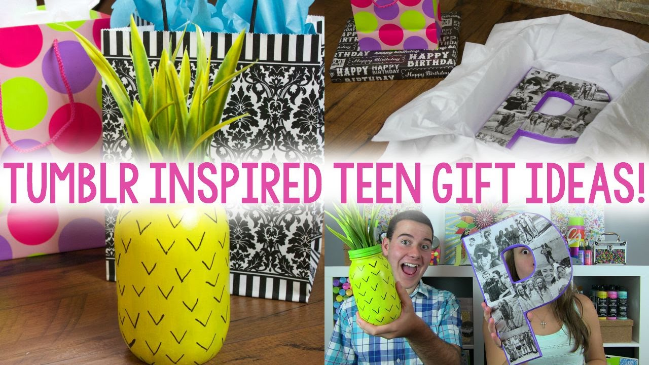 Diy Teen Gift Ideas Tumblr Inspired Easy Gifts Youtube