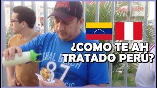 Venezolanos haciendo patria en Piura - Perú | Probando las arepas | Peruvian Life