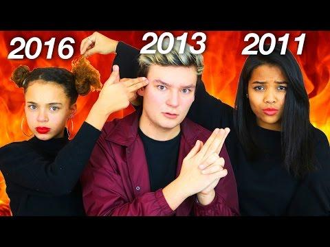 3 GÉNÉRATIONS DE YOUTUBE S'AFFRONTENT!!