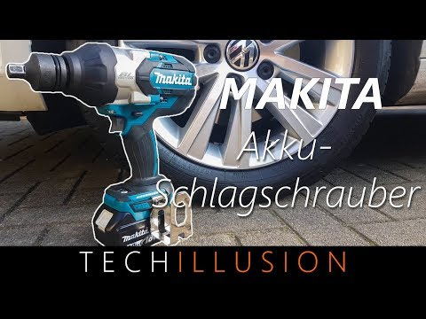 🛠POWER!! - Makita Akku Schlagschrauber DTW1001 - Cordless High Torque Impact Wrench- Review & Test