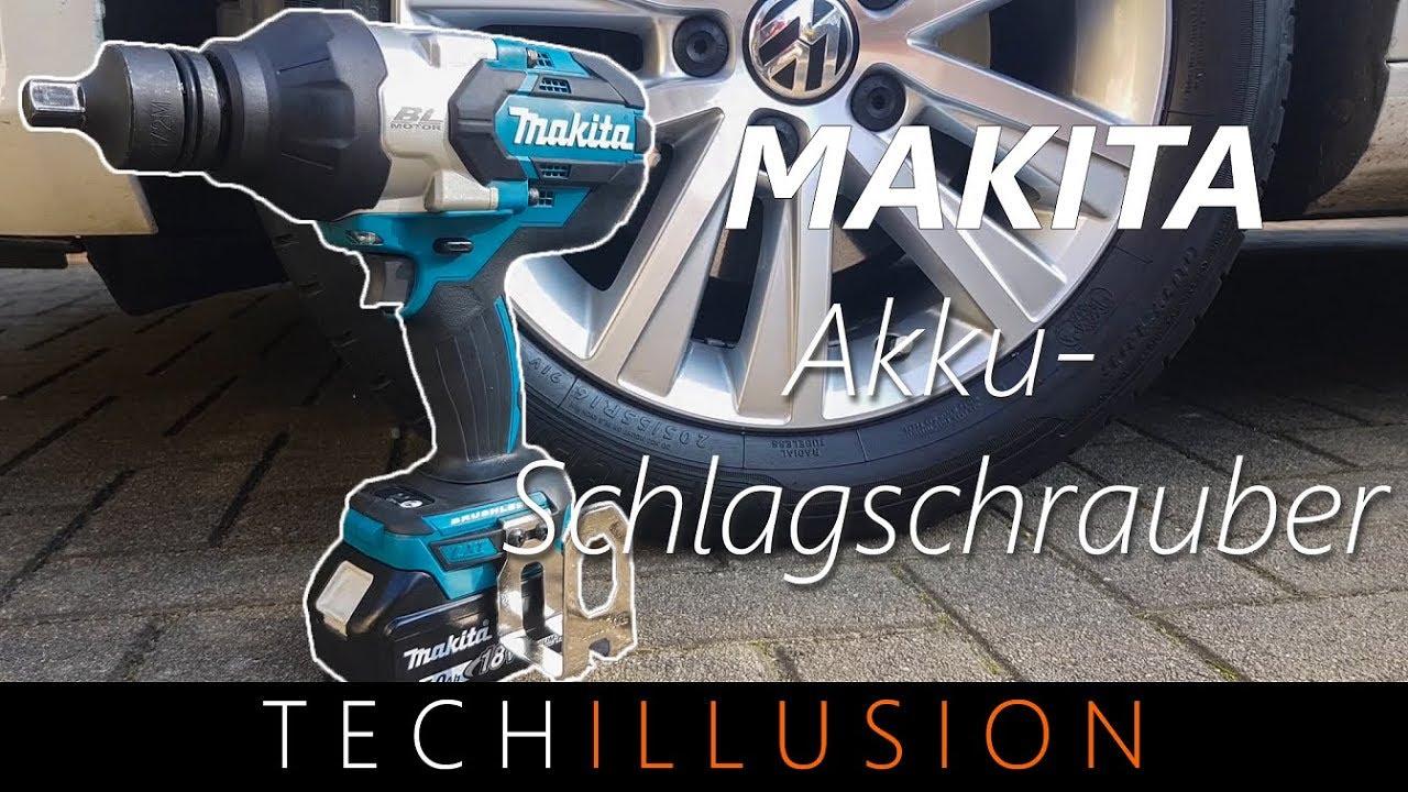 🛠POWER!! - Makita Akku Schlagschrauber DTW1001 im Test - Review & Test