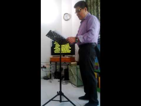 Burning Bush Ministry International UAE July 24 2015 service