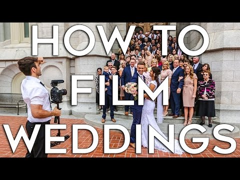 How to Film A Wedding | Job Shadow