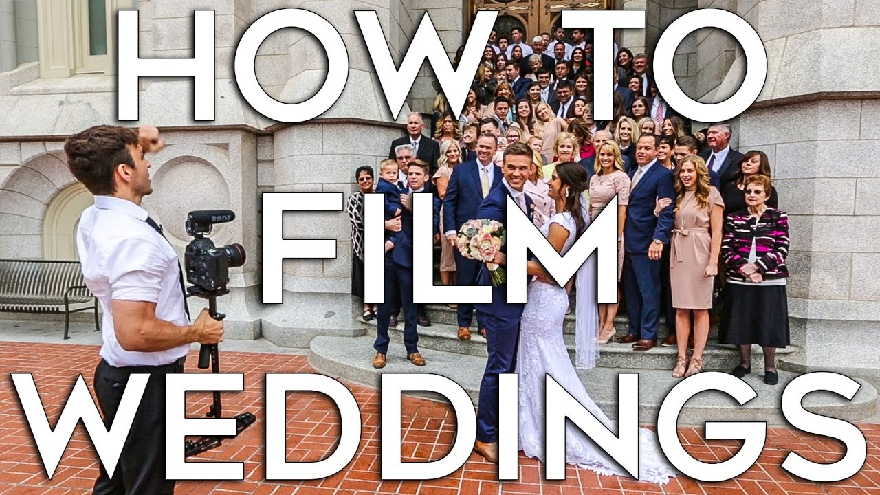 How To Film A Wedding Job Shadow