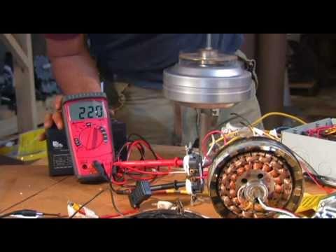 CEILING FAN ALTERNATOR AC to DC Power Supply Converter - YouTube