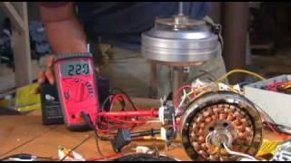TAVAN FANI ALTERNATÖR AC DC Güç Kaynağı Dönüştürücü