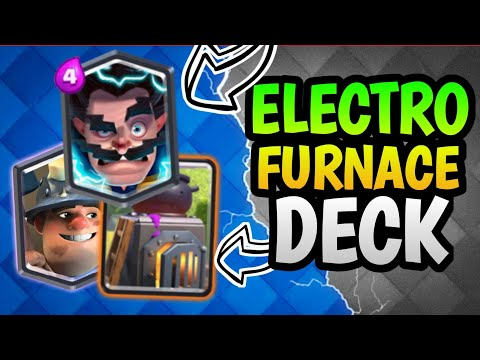 Electro - Furnace Deck For Clash Royale Ladder - AYRUS