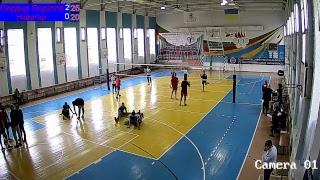 ЧУ з волейболу 2018-2019. Серце Поділля - Новатор 2 гра. 20.10.2018