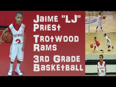 "Jaime ""L-Jay"" Priest - 3rd Grade Basketball 2015-2016"