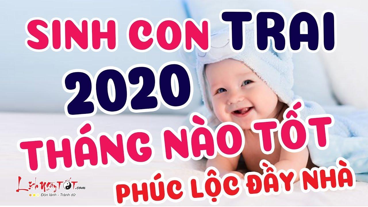Sinh Con Trai Năm 2020 Tháng Nào Tốt Nhất – Bé Trai Tài Trí Hơn Người Bố Mẹ Được Hưởng Lộc Trời Ban