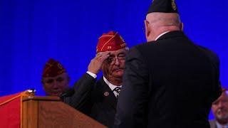American Legion bids farewell to National Commander Oxford