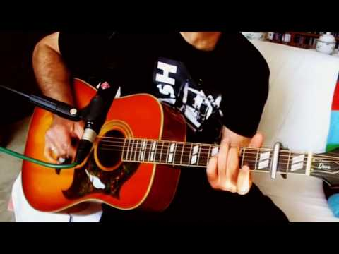 Gentle On My Mind ~ Johnny Cash - Glen Campbell ~ Acoustic Cover w/ Epiphone Dove Pro🎇VB