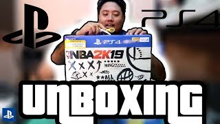 Playstation 4 (PS4) NBA 2K19 Bundle UNBOXING!!! PINOY