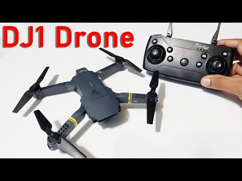 DJ1  Wi-Fi FPV Camera Folding Portable Drone Unboxing ,Flying,& Video Test     Water Prices