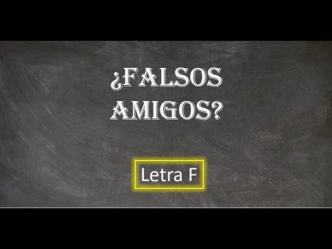 Download Gramática: Falsos amigos entre portugués y español (Letra F)