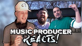 Music Producer Reacts to Reign x Crypt - Rap is a Sport
