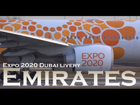 Emirates 777 Expo 2020 Dubai livery