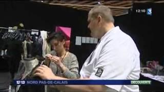 Eiius Collection, marque de Maisons de Mode, au Salon du Chocolat de Lille sur France 3