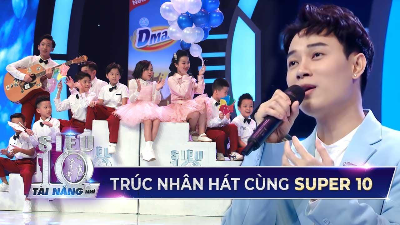 Trúc Nhân 'XÚC ĐỘNG' khi hát live 'Lớn Rồi Còn Khóc Nhè' cùng 10 Siêu Tài Năng Nhí Việt Nam 2020
