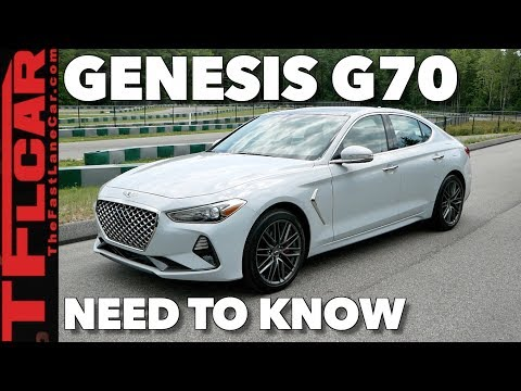 2019 Genesis G70 Here is What You Need to Know