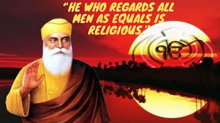 Guru Nanak Dev Ji Quotes | Guru Nanak Jayanti Wishes In English