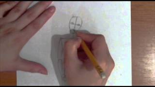 Рисование фешн эскиза в 8 голов. Видеоурок по рисованию Анны Кошкиной.