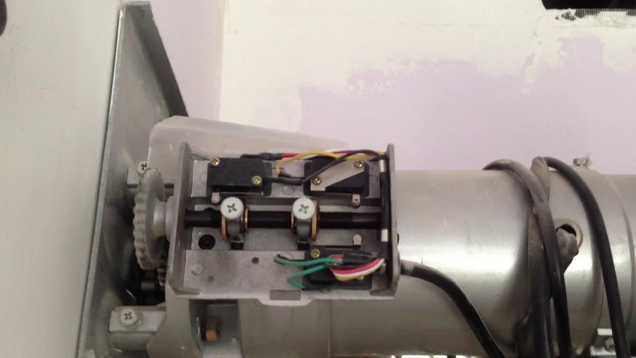 How To Set Adjust Limit Of Roller Shutter Motor Youtube