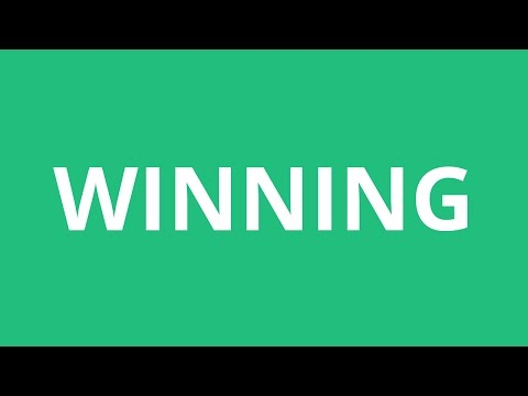 How To Pronounce Winning - Pronunciation Academy